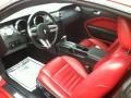 Red/Dark Charcoal 2006 Ford Mustang GT Premium Coupe Interior Color