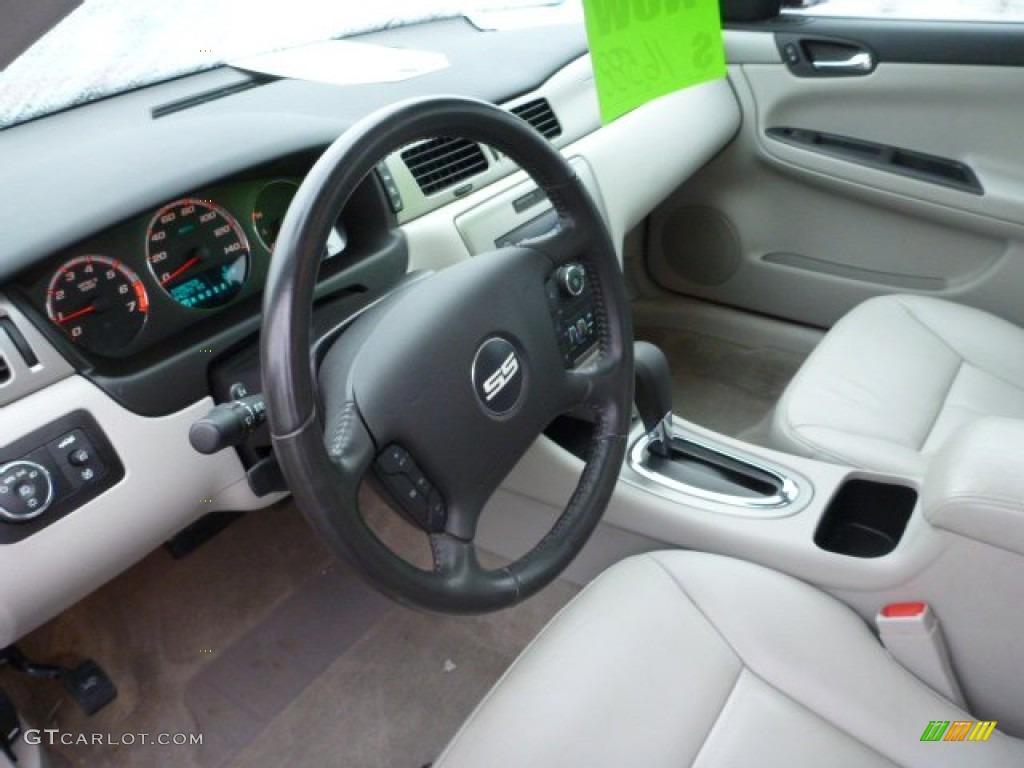 Gray interior 2008 chevrolet impala ss photo 76491461