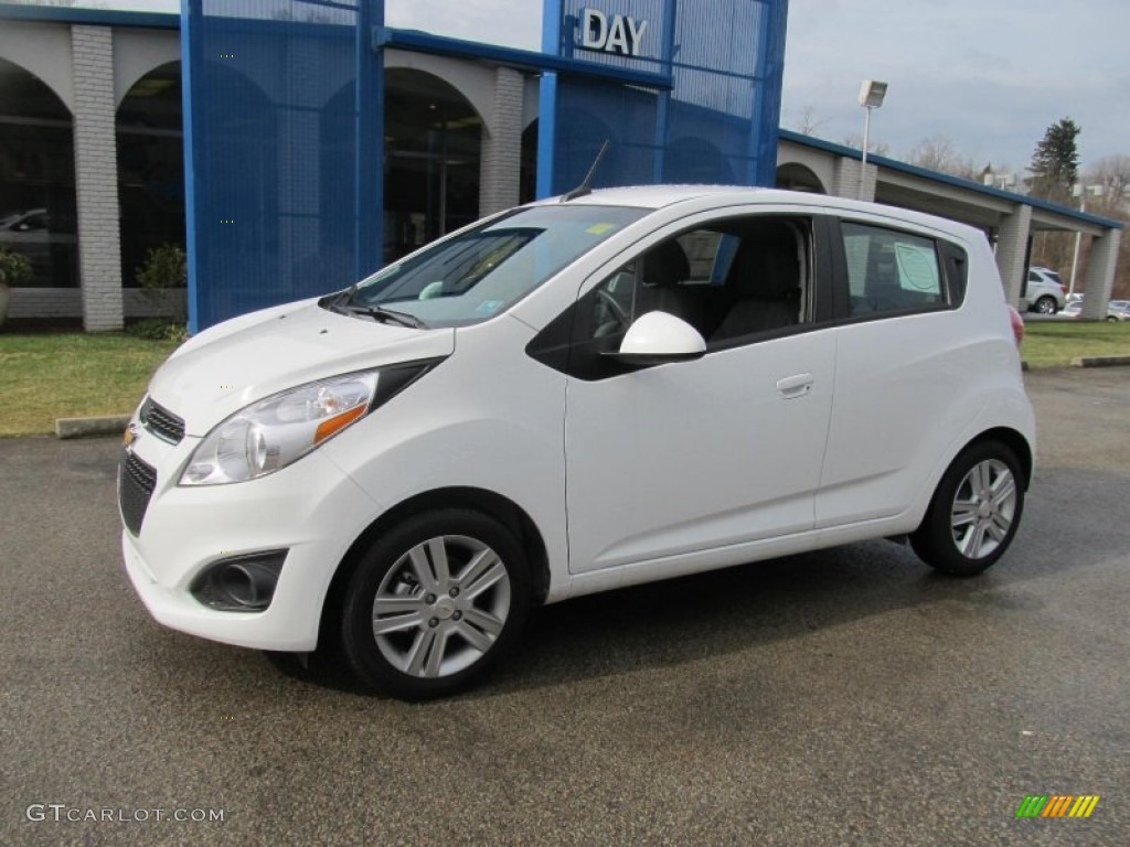 2013 Summit White Chevrolet Spark LS #76499440 | GTCarLot ...