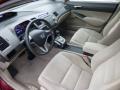 Beige 2010 Honda Civic Interiors