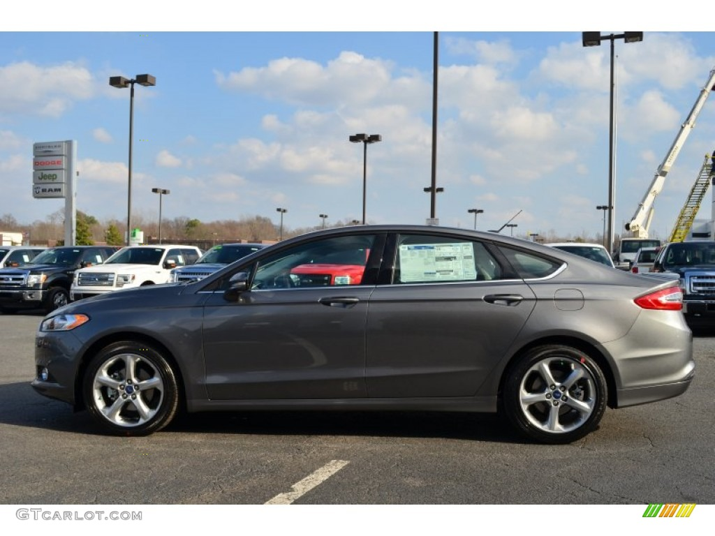 Sterling Gray Metallic 2013 Ford Fusion Se 1 6 Ecoboost Exterior Photo 76520502