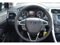 SE Appearance Package Charcoal Black/Red Stitching Steering Wheel Photo for 2013 Ford Fusion #76520890