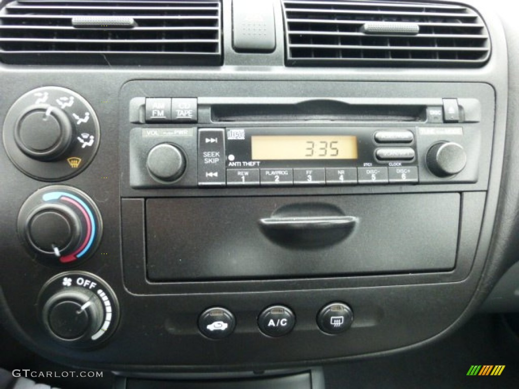 2002 honda civic ex sedan audio system photos. Black Bedroom Furniture Sets. Home Design Ideas