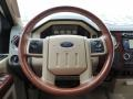 2010 Ford F250 Super Duty Chaparral Leather Interior Steering Wheel Photo