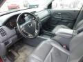 2003 Honda Pilot Gray Interior Prime Interior Photo