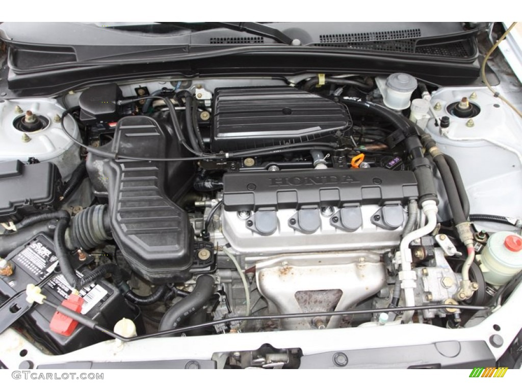 2003 Honda Civic Lx Sedan 1 7 Liter Sohc 16v 4 Cylinder Engine Photo 76527707