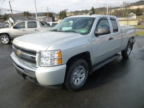 2010 Chevrolet Silverado 1500 LS Extended Cab 4x4 Data, Info and Specs