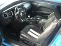 2011 Grabber Blue Ford Mustang Shelby GT500 Coupe  photo #4