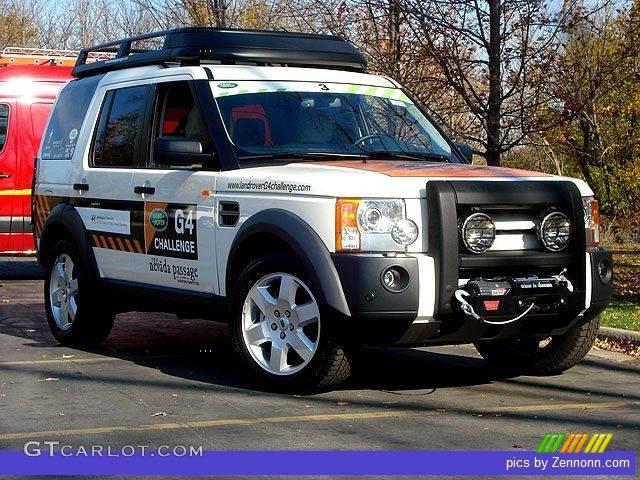 2008 Alaska White Land Rover Lr3 V8 Hse G4 Challenge