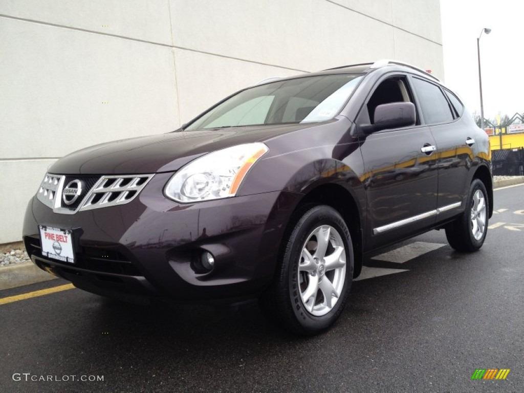 2011 Black Amethyst Nissan Rogue Sv Awd 76499944