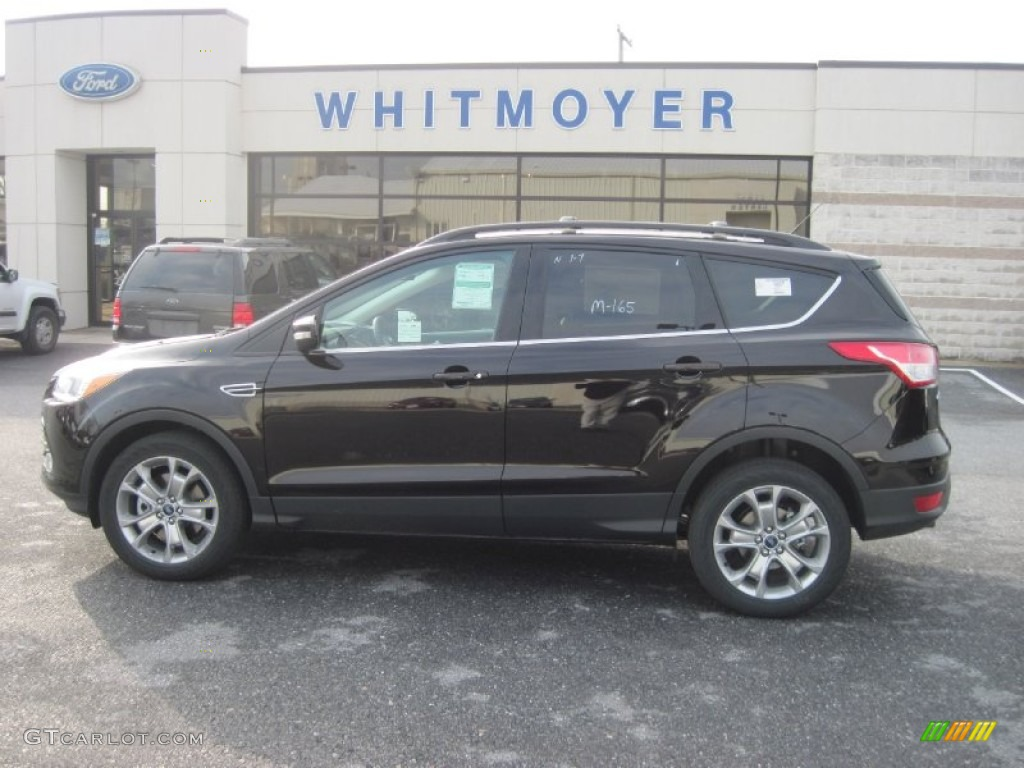 2013 Kodiak Brown Metallic Ford Escape Sel 2 0l Ecoboost