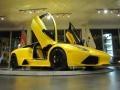 Giallo Evros (Pearl Yellow) 2009 Lamborghini Murcielago LP640 Coupe