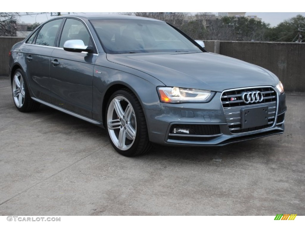 2013 Monsoon Gray Metallic Audi S4 3 0t Quattro Sedan 76500033 Gtcarlot Com Car Color Galleries