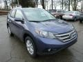 2013 Twilight Blue Metallic Honda CR-V EX-L AWD  photo #6