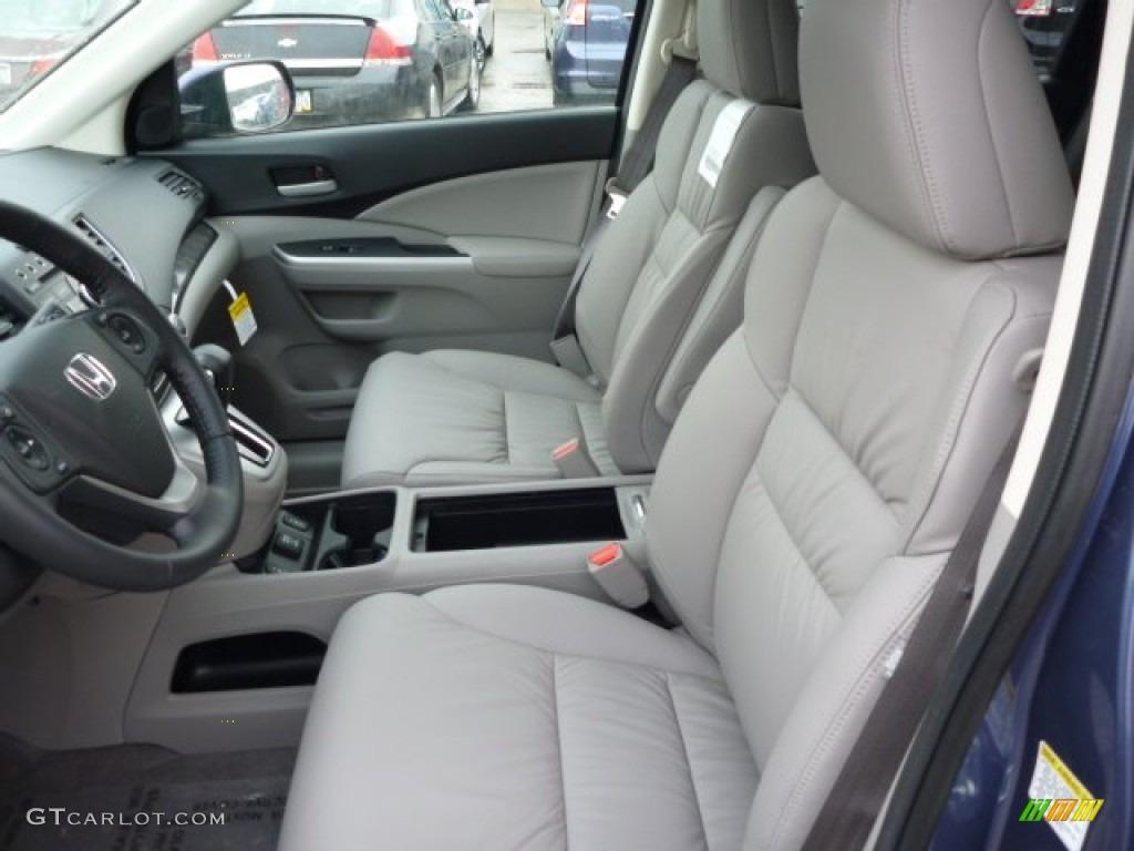 2013 CR-V EX-L AWD - Twilight Blue Metallic / Gray photo #10