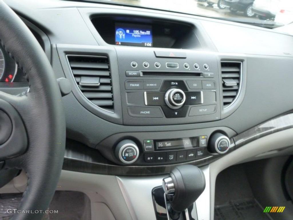 2013 CR-V EX-L AWD - Twilight Blue Metallic / Gray photo #18