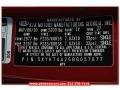 2011 Spicy Red Kia Sorento LX V6  photo #11