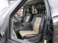 2010 Ford Explorer Black/Camel Interior Front Seat Photo