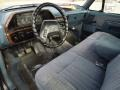 1988 F150 Blue Interior