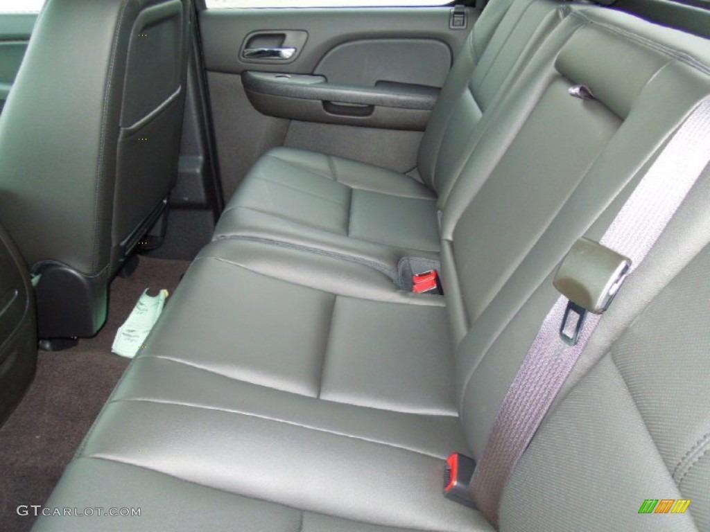 2013 Chevrolet Silverado 1500 LTZ Crew Cab 4x4 Rear Seat Photo #76575559