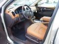 Choccachino Leather 2013 Buick Enclave Interiors