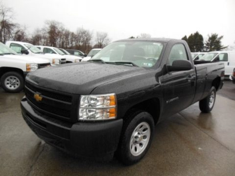 2013 chevrolet silverado 1500 work truck regular cab data info and specs. Black Bedroom Furniture Sets. Home Design Ideas