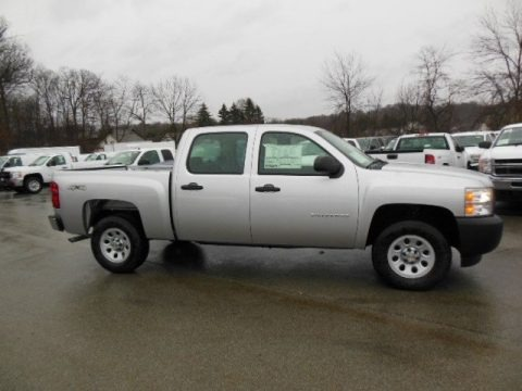 2013 Chevrolet Silverado 1500 Work Truck Crew Cab 4x4 Data, Info and Specs