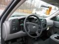 2012 Silver Ice Metallic Chevrolet Silverado 1500 Work Truck Regular Cab 4x4  photo #10