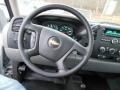 2012 Silver Ice Metallic Chevrolet Silverado 1500 Work Truck Regular Cab 4x4  photo #17