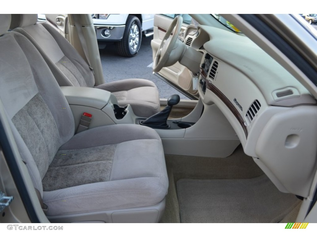 2005 chevrolet impala ls interior photos