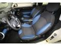 Black/Pacific Blue Interior Photo for 2009 Mini Cooper #76601197