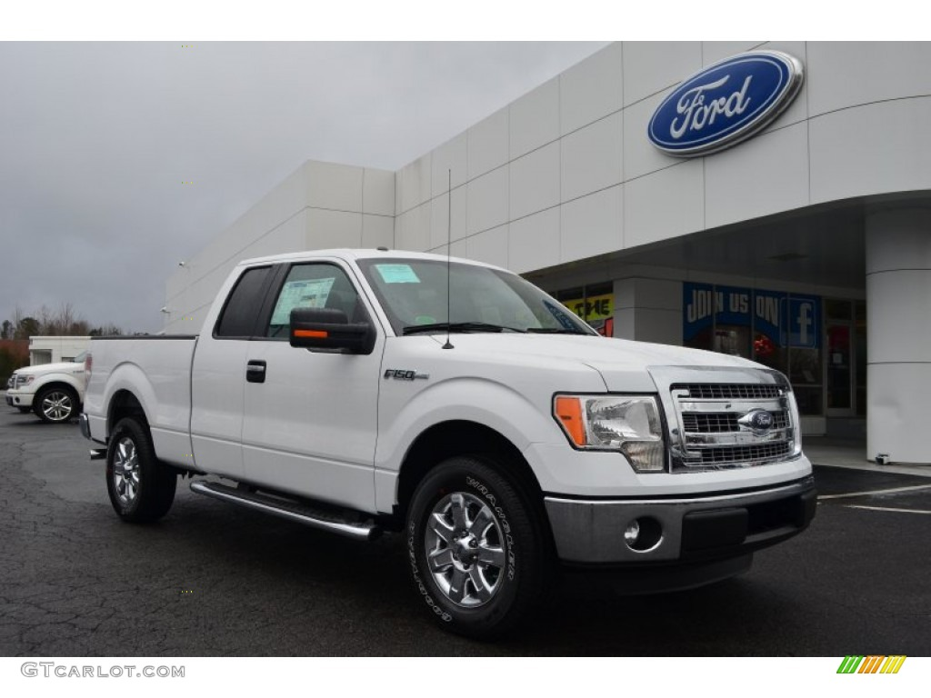 Oxford white ford f150 ford f150 xlt supercab