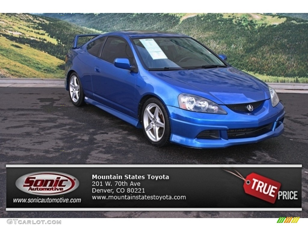 2006 vivid blue pearl acura rsx type s sports coupe 76564522 car color galleries. Black Bedroom Furniture Sets. Home Design Ideas