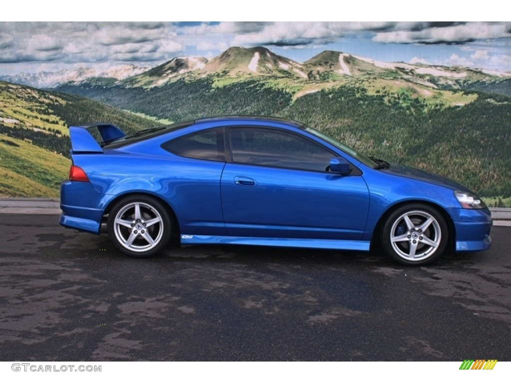 Vivid Blue Pearl 2006 Acura RSX Type S Sports Coupe Exterior Photo #76603000 | GTCarLot.com