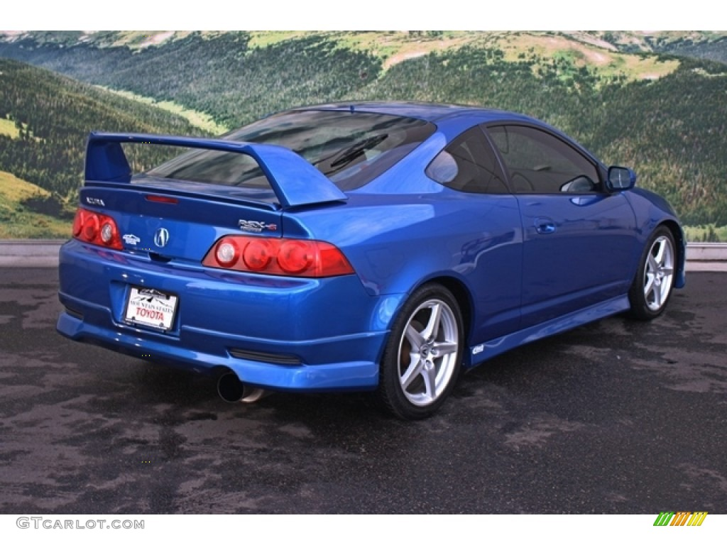 2006 vivid blue pearl acura rsx type s sports coupe 76564522 photo 3 car. Black Bedroom Furniture Sets. Home Design Ideas