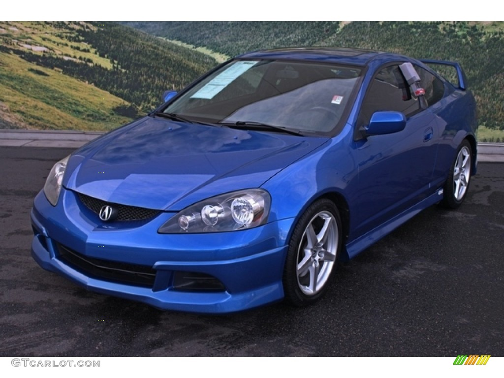 vivid blue pearl 2006 acura rsx type s sports coupe exterior photo 76603078. Black Bedroom Furniture Sets. Home Design Ideas