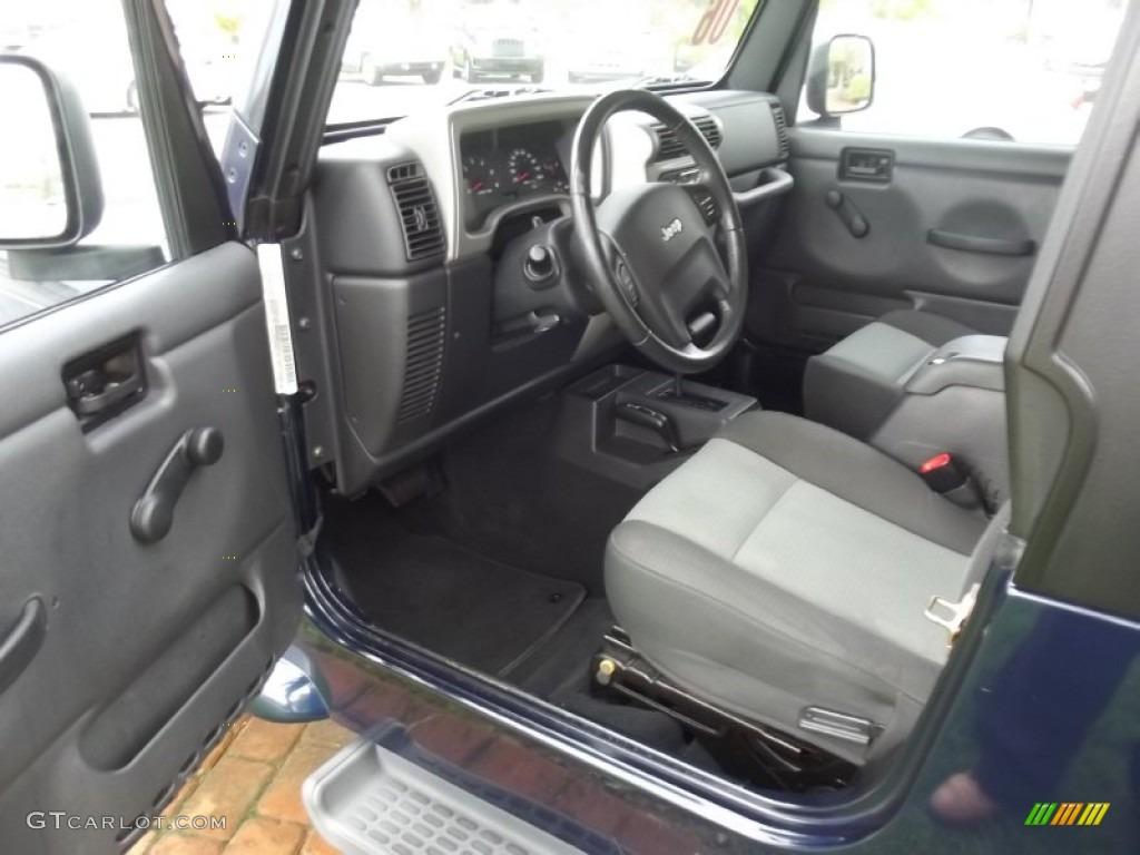 2006 Jeep Wrangler Unlimited 4x4 Interior Color Photos