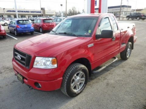 2008 ford f150 stx regular cab 4x4 data info and specs. Black Bedroom Furniture Sets. Home Design Ideas