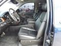 Ebony Front Seat Photo for 2011 Chevrolet Silverado 1500 #76623238