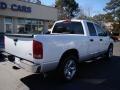 2006 Bright White Dodge Ram 1500 Laramie Quad Cab  photo #8