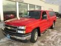 2006 Victory Red Chevrolet Silverado 1500 Work Truck Regular Cab  photo #9