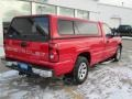 2006 Victory Red Chevrolet Silverado 1500 Work Truck Regular Cab  photo #13