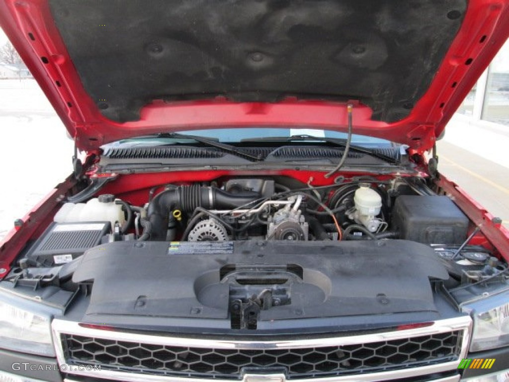 2006 Silverado 1500 Work Truck Regular Cab - Victory Red / Dark Charcoal photo #15