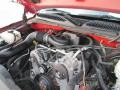 2006 Victory Red Chevrolet Silverado 1500 Work Truck Regular Cab  photo #16