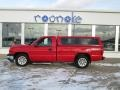 2006 Victory Red Chevrolet Silverado 1500 Work Truck Regular Cab  photo #18