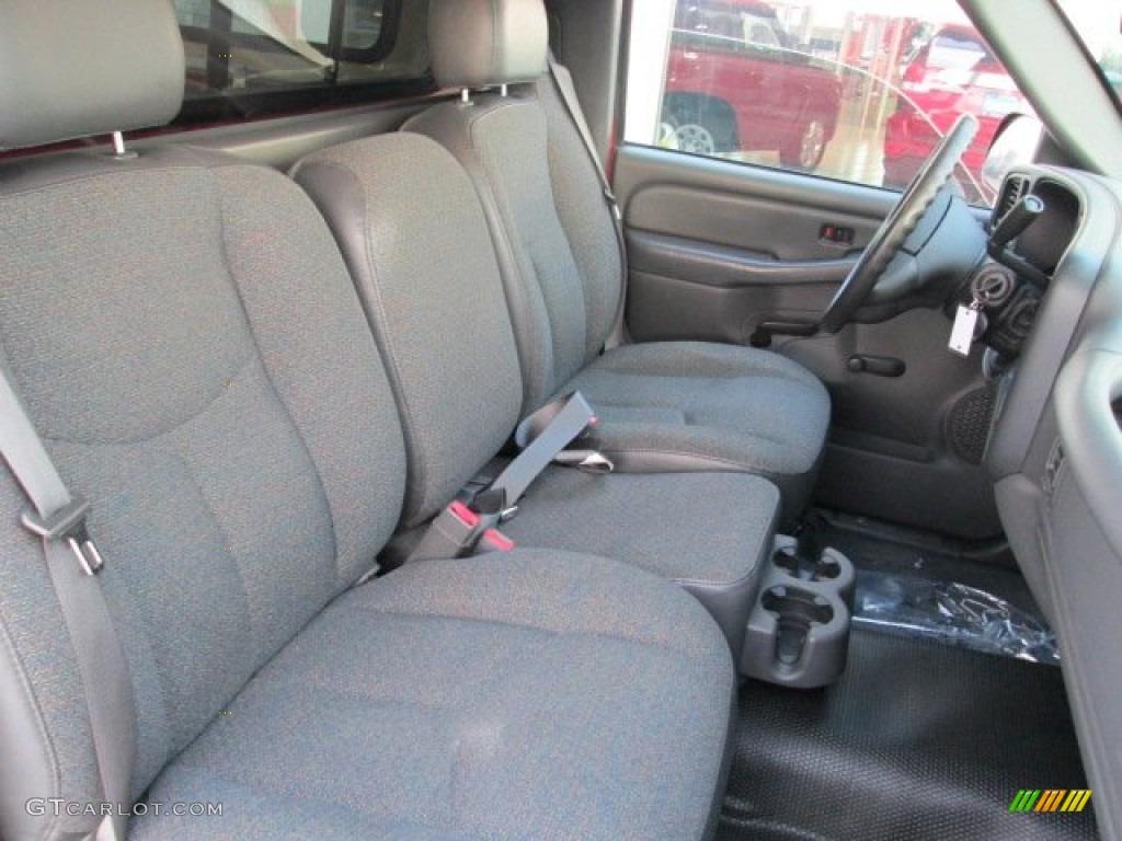 2006 Silverado 1500 Work Truck Regular Cab - Victory Red / Dark Charcoal photo #22