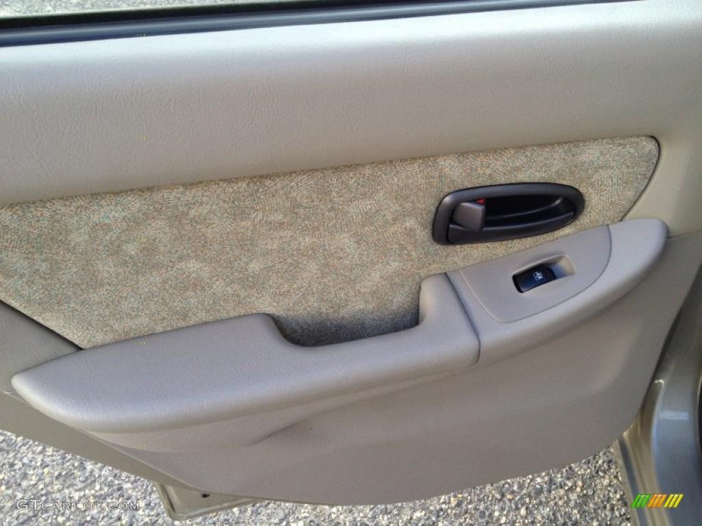 2001 Hyundai Elantra Gls Beige Door Panel Photo 76631475