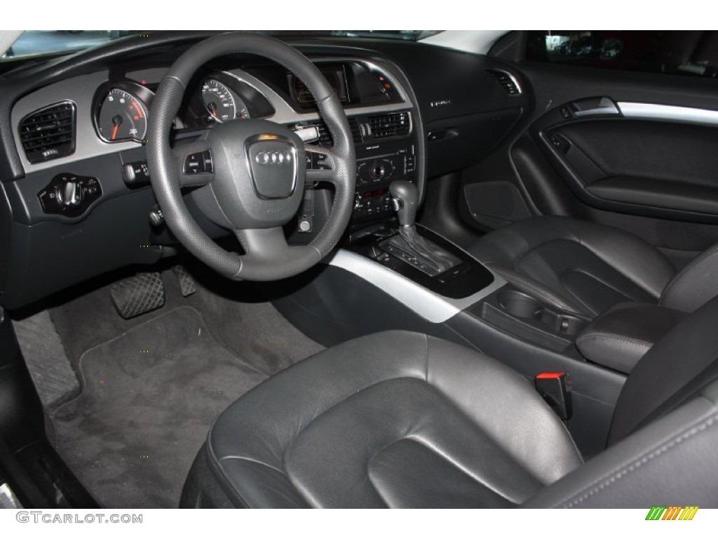 Black Interior 2011 Audi A5 2 0t Quattro Coupe Photo 76632363