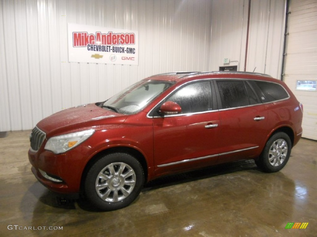 2013 Crystal Red Tintcoat Buick Enclave Leather 76624775 Car Color Galleries