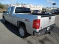 2013 Silver Ice Metallic Chevrolet Silverado 1500 LTZ Extended Cab 4x4  photo #4